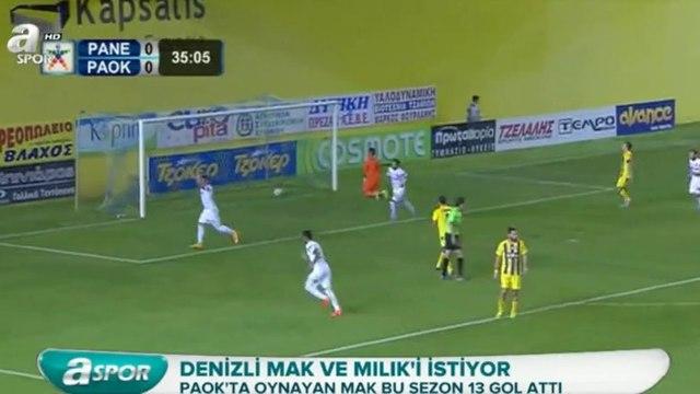 Galatasarayda transfer gelişmeleri - Mak, Milik (A Spor - 3 Ocak 2016)