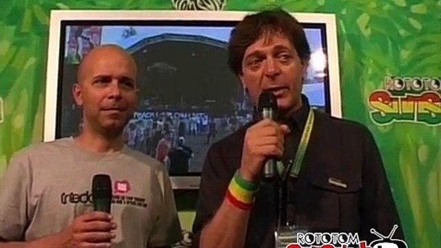 FILIPPO GIUNTA interview @ Rototom Sunsplash 2009
