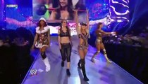 The Bella Twins, Beth Phoenix and Natalya vs. Kelly Kelly, Alicia Fox, Eve Torres and Maria Menounos