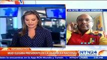 Diputados impugnados asistirán a elección del presidente de la Asamblea Nacional en Vzla: Jorge Millán a NTN24