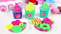 Peppa Pig Pique-Nique Set Hello Kitty Pâte À Modeler Set Play Doh Couleurs De LArc Glaces Des Cookies