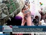 Ceuta: miles contrabandean mercancía entre Marruecos y España