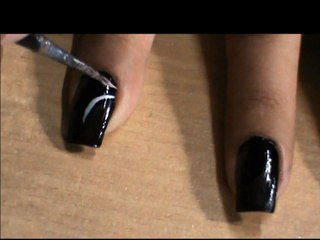 Very Easy Nail Art Design For Beginners To Do At Home