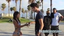 Kissing Prank Rock Paper Scissors (Kiss or Slap) Kissing Strangers Kissing Pranks 2014