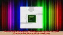 PDF Download  Mass Media Research Wadsworth Series in Mass Communication and Journalism Download Online