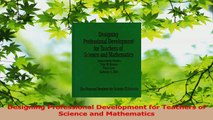Read  Designing Professional Development for Teachers of Science and Mathematics PDF Online