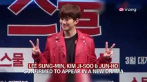 LEE SUNG-MIN, KIM JI-SOO & JUN-HO CONFIRMED TO APPEAR IN A NEW DRAMA