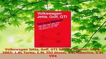 Download  Volkswagen Jetta Golf GTI Service Manual 19992003 18L Turbo 19L TDI Diesel 20L PDF Free