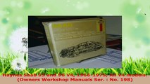 Read  Haynes Saab 95 and 96 V4 19661975 All V4 models Owners Workshop Manuals Ser  No 198 EBooks Online