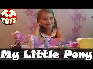 Мой маленький пони. Девочка Полина рассказывает про любимых My little Pony. Моя Любимая Игрушка