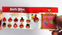 Surprise Eggs Angry Birds! Opening Eggs with Toys! Шоколадные яйца Angry Birds.
