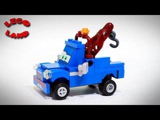 ✔ LEGO Disney Cars Pixar Mater Tow Truck Cartoons