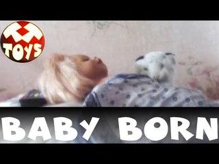 Baby Born. Девочка Елизавета Рассказывает про свою любимую Куклу. Моя Любимая Игрушка