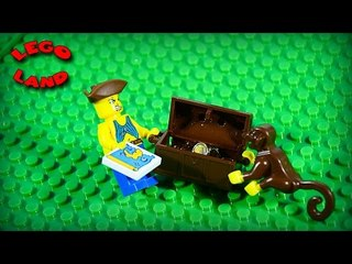 ✔ LEGO Movie Pirates Loot Island Stop Motion Animation