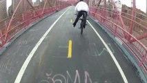 Petite séance de BMX dans les rues de New York - Filmé en POV avec une GoPro