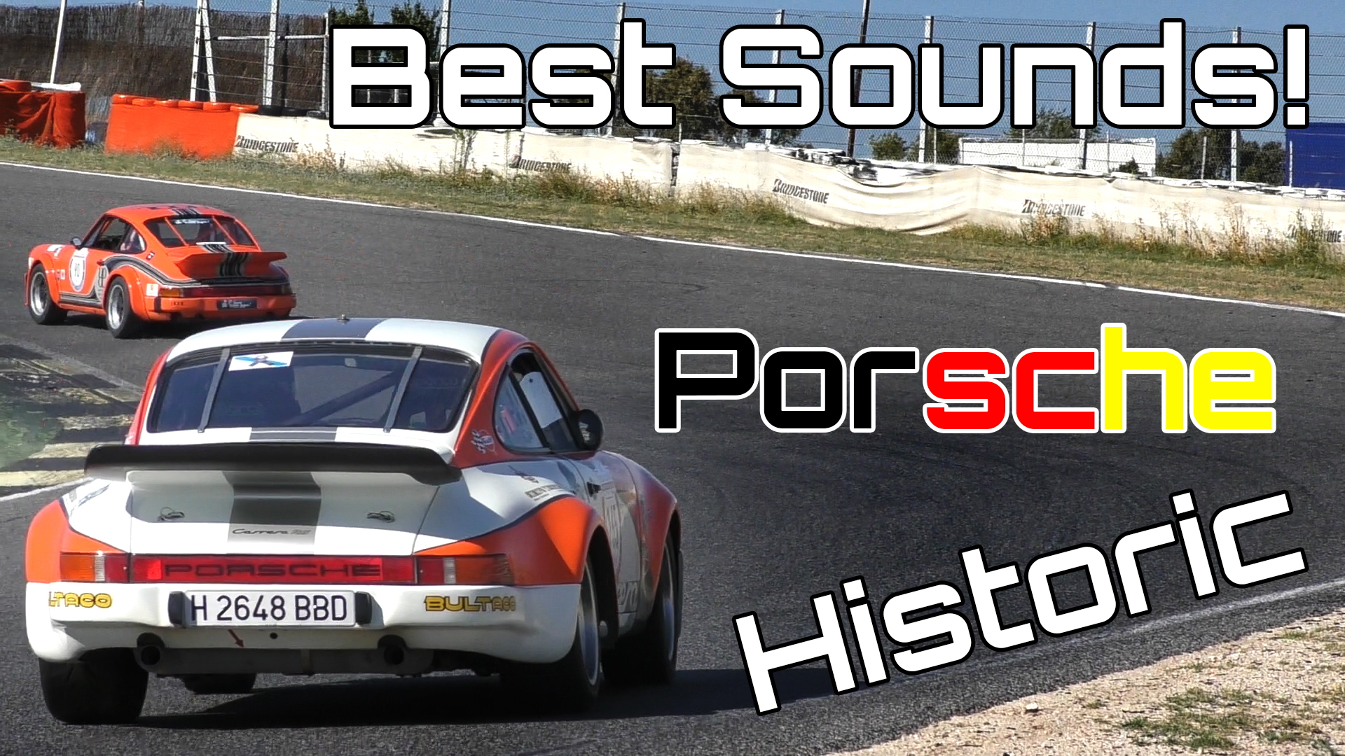 Porsche cars in ACTION -Best porsche sound!