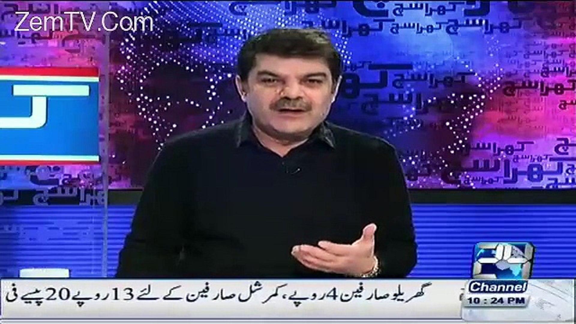 Mubashir Luqman Started War Against Morning Shows Hosts Sahir Lodhi Javeria Saud Nadia Khan and Nida