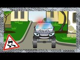 ✔ Police car with Ambulance and Fire Truck. Cars Cartoons / Compilation for kids / 7 Episode ✔