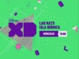 """PROMO """"LAB RATS: ISLA BIÓNICA"""" (NUEVOS EPISODIOS - ENERO 2016) EN DISNEY XD - NUEVO LOGO"""
