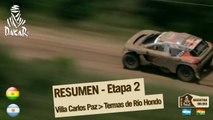 Resumen de la etapa 2 - Coche/Moto - (Villa Carlos Paz / Termas de Rio Hondo)