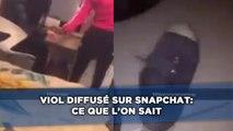Viol diffusé sur Snapchat: Ce que l'on sait