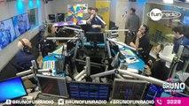 Elliot dans la cage aux Lions - La roue du Défi de Bruno dans la Radio