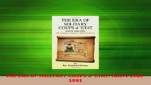 PDF Download  THE ERA OF MILITARY COUPS d ETAT HAITI 19861991 Read Online