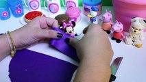 Halloween Peppa Pig Picnic Basket Play Set Mickey Mouse Play Doh Picnic Basket Cesta de Picnic