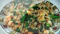 Street Food Chinese Chicken Fried Rice