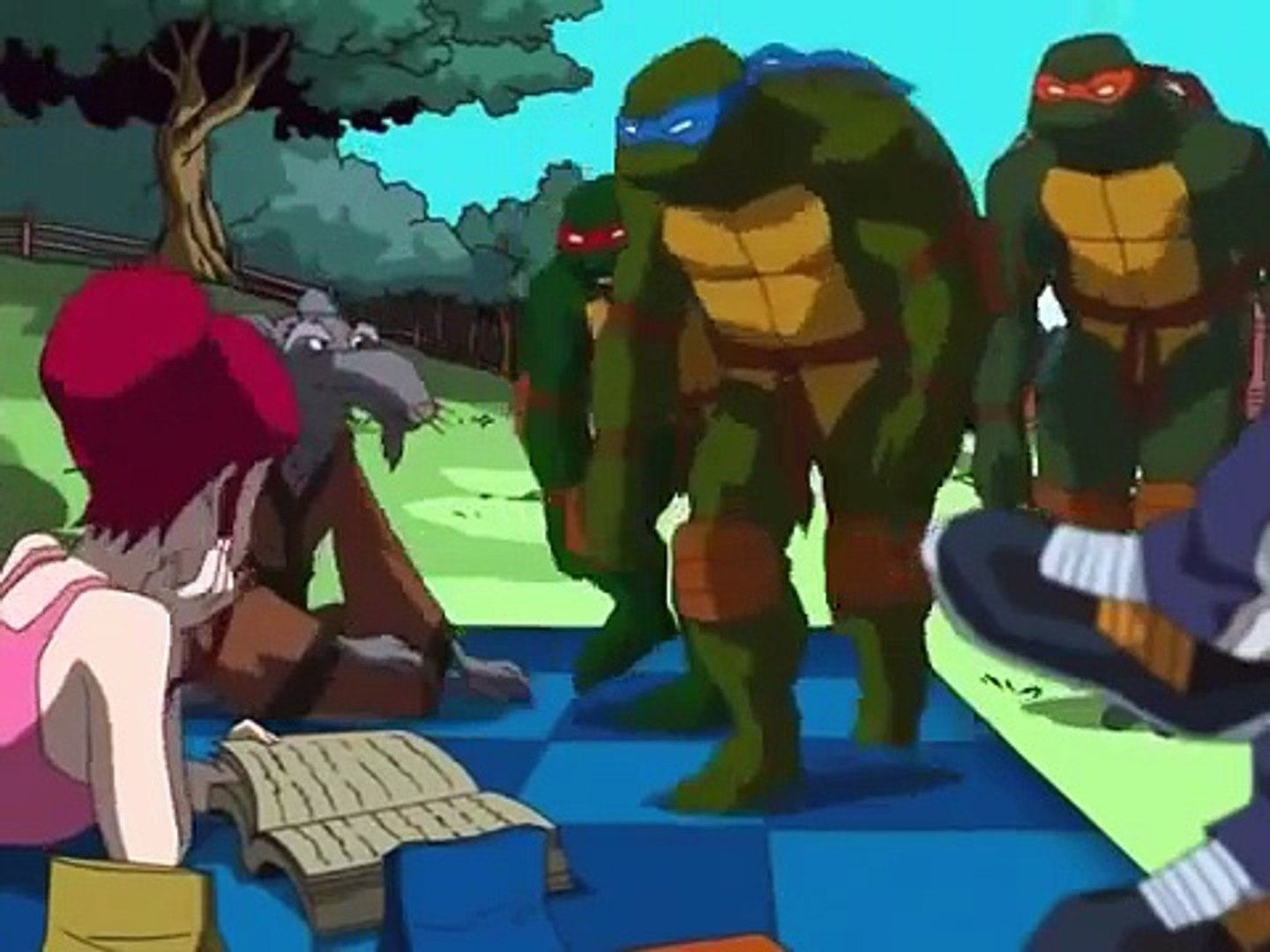 Tmnt S02e09 Reflections Widescreen Dailymotion Video