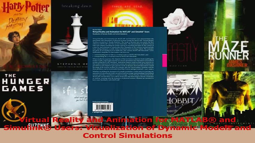 PDF Download  Virtual Reality and Animation for MATLAB and Simulink Users Visualization of Dynamic Download Full Ebook
