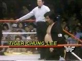 Bob Backlund vs Tiger Chung Lee   Championship Wrestling March 24th, 1984