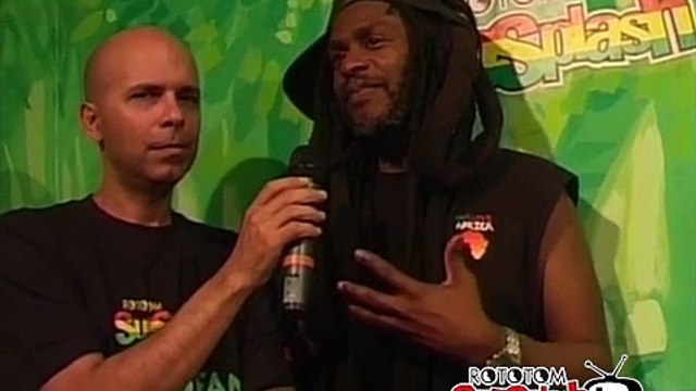 DAVID HINDS (Steel Pulse) interview @ Rototom Sunsplash 2009