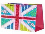 Наконец-то!Купил подарок на день рождения - Пакет подарочный Флаг в цветах в г. Ставрополь
