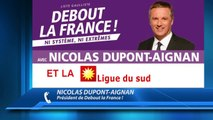 D!CI TV : Nicolas Dupont-Aignan vent debout contre Debout la Gauche