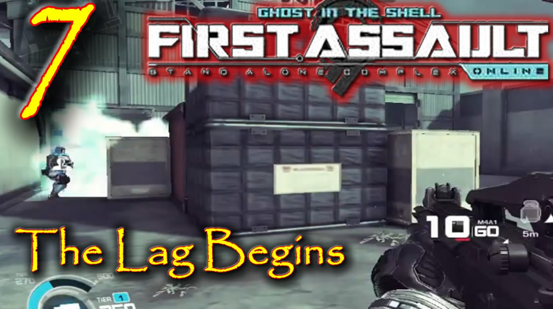 The Lag Begins Lets Play Ghost In The Shell Stand Alone Complex First Assault Online Episode 7