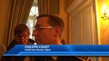 D!CI TV : Prise de fonctions du préfet des Hautes-Alpes, Philippe Court