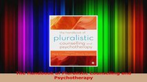 PDF Download  The Handbook of Pluralistic Counselling and Psychotherapy Download Full Ebook