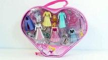Princess Aurora The Little Mermaid Princess Fashion Set La Petite Sirène Coffret Princesse Play Set