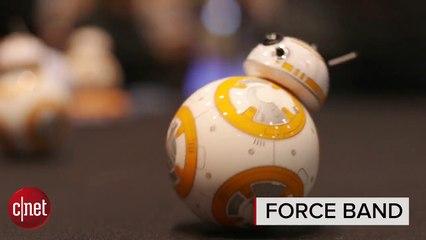 CES 2016 : Force Band, le bracelet contrôlant BB-8 avec la force