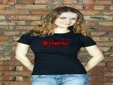 Отличный подарок на именины - Футболка женская с вашим текстом Кровавая футболка в г. Томск
