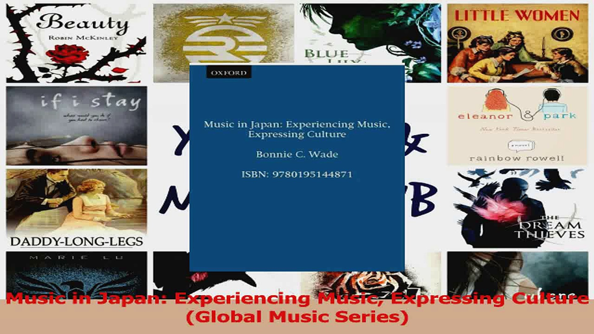 PDF Download  Music in Japan Experiencing Music Expressing Culture Global Music Series Read Full Ebo