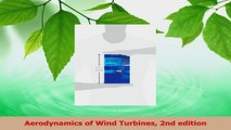 Read  Aerodynamics of Wind Turbines 2nd edition Ebook Free