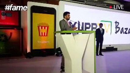 Abhishek Bachchan's Speech at Launch of YuppTV Bazaar   #fame Bollywood