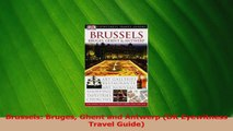 Read  Brussels Bruges Ghent and Antwerp DK Eyewitness Travel Guide PDF Online