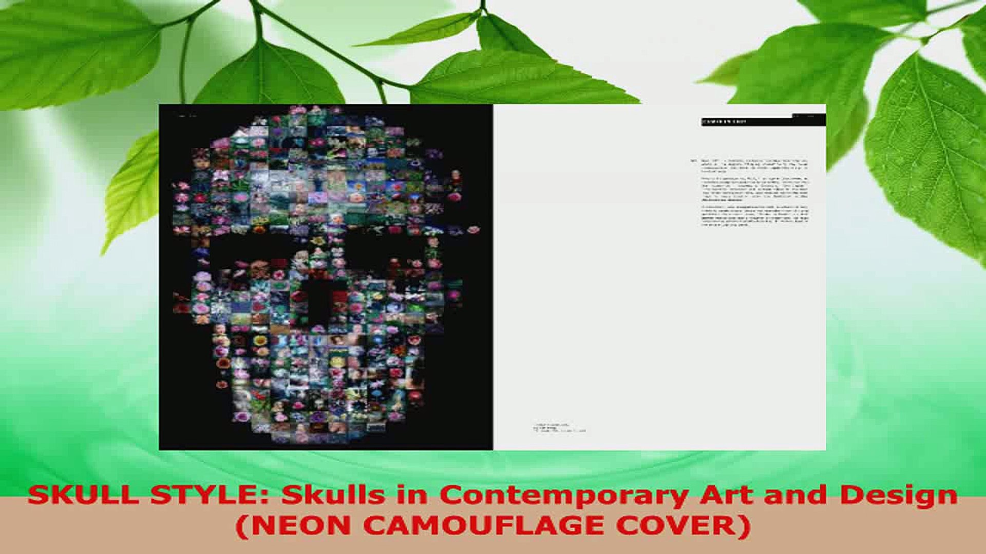 Read Skull Style Skulls In Contemporary Art And Design Neon Camouflage Cover Ebook Free