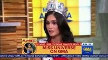 Pia Wurtzbach Interview GMA & Live Kelly Michael FULL Miss Phillipines Interview Miss Universe