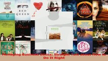 PDF Download  Managing Business Ethics Straight Talk about How to Do It Right PDF Full Ebook