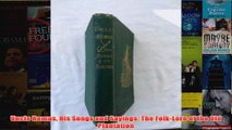 Uncle Remus His Songs and Sayings The FolkLore of the Old Plantation