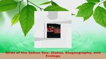 Read  Birds of the Salton Sea Status Biogeography and Ecology EBooks Online